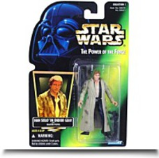 Han Solo In Endor Gear With Blaster Pistol