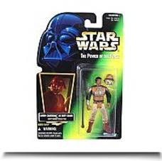 Star Wars POTF2 Green Card Lando Calrissian