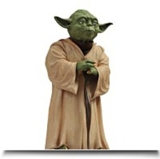 On SaleToys Star Wars Yoda Vinyl Bank