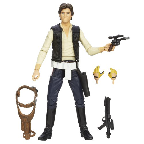 Black Series Han Solo Figure 6 Inches