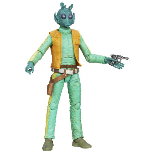 Black Series Greedo Figure 6 Inches